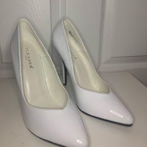 Pleaser USA White Heels